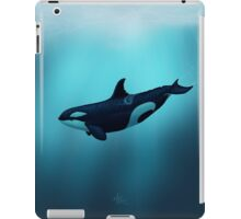 Lost in Serenity ~ Orca ~ Killer Whale iPad Case/Skin