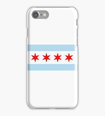 Chicago Flag iPhone Case/Skin