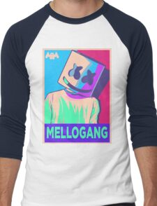 Marshmello Mellogang Neon Men's Baseball ¾ T-Shirt