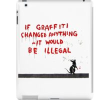 Banksy Graffiti iPad Case/Skin