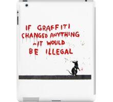 Banksy Graffiti iPad Case/Skin