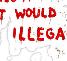 Banksy Graffiti Sticker