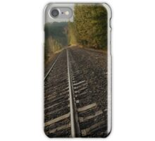 a jog on the tracks iPhone Case/Skin