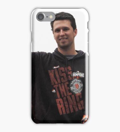 Buster Posey WSP 2014 iPhone Case/Skin
