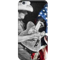 Brad Paisley in Concert iPhone Case/Skin