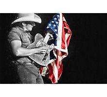 Brad Paisley in Concert Photographic Print