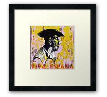Viva Espana Framed Print