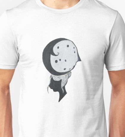 The Moon Man and Girl Unisex T-Shirt
