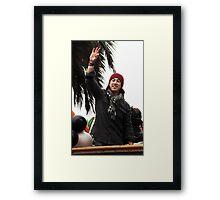 Tim Lincecum WSP 2014 Framed Print