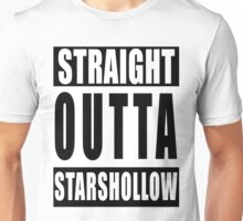 Straight Outta Stars Hollow Unisex T-Shirt