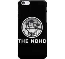 The Neighbourhood Palm Tree Print The NBHD Band Shirt White iPhone Case/Skin
