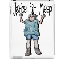 Justice For Meep iPad Case/Skin