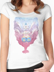 Balance Is Key Women's Fitted Scoop T-Shirt