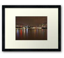 Goodwill Bridge  Framed Print