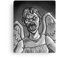 Weeping Angel! Canvas Print