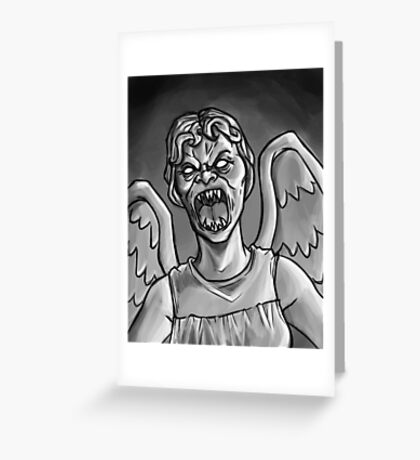 Weeping Angel! Greeting Card