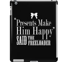 Said The Freeloader - Typography iPad Case/Skin