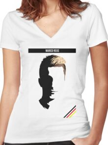 Marco Reus - German National Team DFB Women's Fitted V-Neck T-Shirt