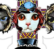 CATS N ROSES Sticker