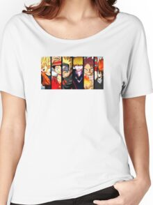 ANIME COLLAGE SHIRT Women's Relaxed Fit T-Shirt
