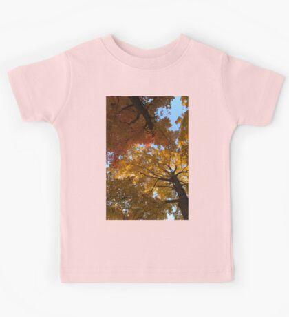 Colourful Autumn Duet Kids Tee