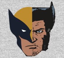 Wolverine Logan Face by Thomas Shaw