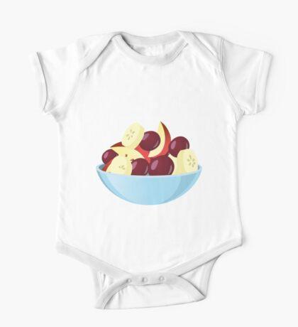 Glitch Food fruit salad One Piece - Short Sleeve