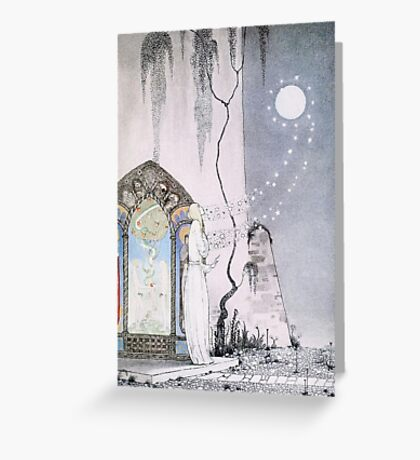 East of the Sun and West of the Moon - The Lassie & her Grandmother Greeting Card