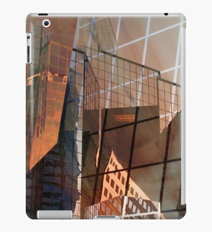 Glass Building Reflections iPad Case/Skin