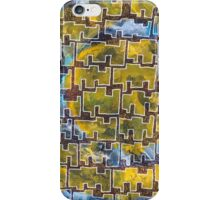 Tanzanian Space Invaders iPhone Case/Skin