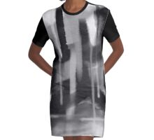 """Mindfulness"" Graphic T-Shirt Dress"