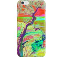 Cliff view. iPhone Case/Skin