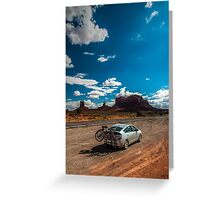 Monument Valley Road Trip Greeting Card