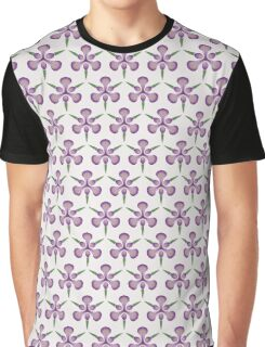 Purple Iris Tessellation Graphic T-Shirt