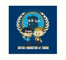 United Federation of Tardis Art Print