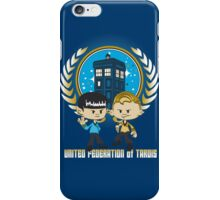 United Federation of Tardis iPhone Case/Skin