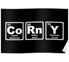 Corny - Periodic Table Poster