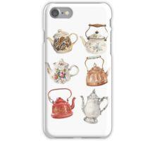 Teapot Love by Paris Lomé  iPhone Case/Skin