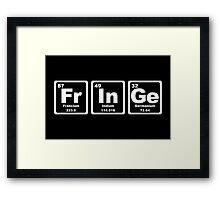 Fringe - Periodic Table Framed Print