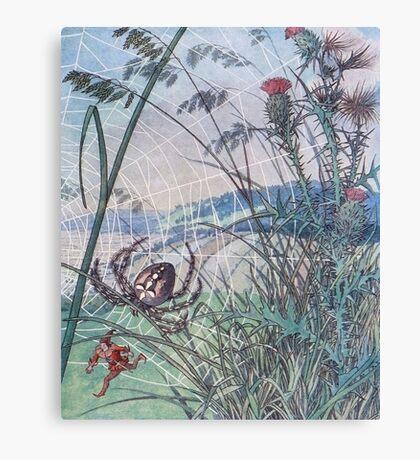 Little Tom Fairy Tale Canvas Print