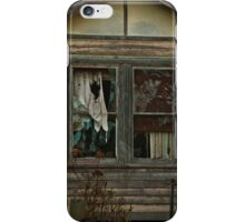 Neglected Old Window iPhone Case/Skin