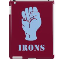 Irons iPad Case/Skin
