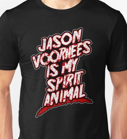 Jason Voorhees Is My Spirit Animal Unisex T-Shirt