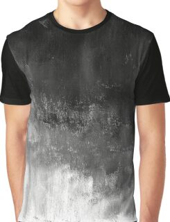 Painted Gradient Texture Graphic T-Shirt