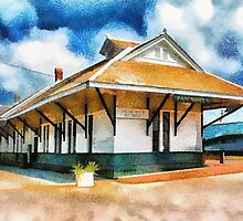 Pascagoula Train Depot by Barry  Jones