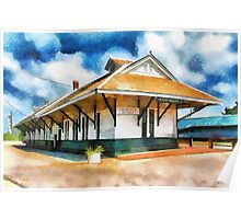 Pascagoula Train Depot Poster