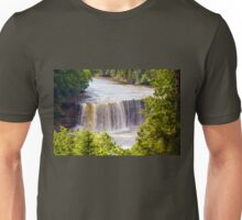 The Upper Falls on Tahquamenon River Unisex T-Shirt