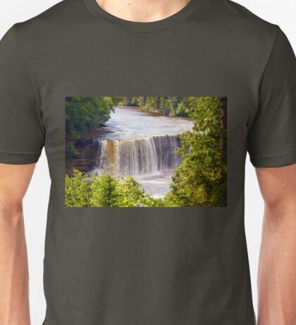 The Upper Falls on Tahquamenon River Unisex T-Shirt