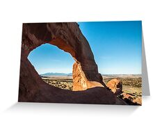 Stone Arch in Utah Greeting Card
