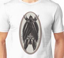 hanging bat, old school tattoo bat Unisex T-Shirt